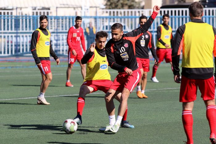حسینی و نورالهی در کنار سایر بازیکنان تمرین کردند
