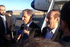جهانگیری به گرگان رسید /  4 وزیر معاون اول رئیس جمهور را در این سفر همراهی می کنند