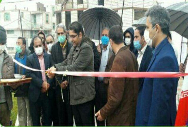 افتتاح پروژهای عمرانی و خدماتی شهرداری پلدختر به مناسبت دهه فجر
