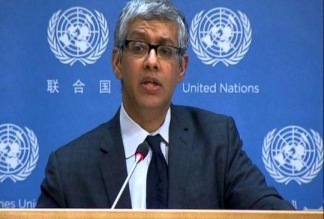 واکنش سازمان ملل به گزارش آمریکا در مورد انفجار فجیره: منتظر گزارش های جدید هستیم