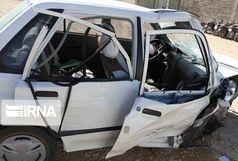 تصادف سه خودرو در محور لار به کهورستان با ۱کشته و۷ زخمی
