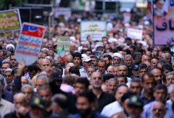 راهپیمایی روز جهانی قدس-لاهیجان