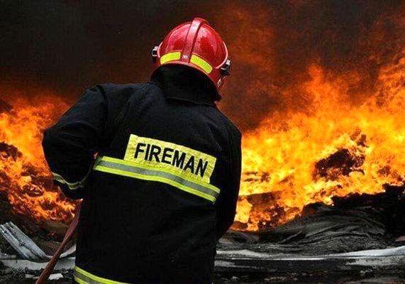 آتش سوزی در یک بیمارستان تهران