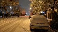 بارش برف وباران در تهران متوقف شد؟