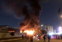 کارگاه ام دی اف، در آتش سوخت