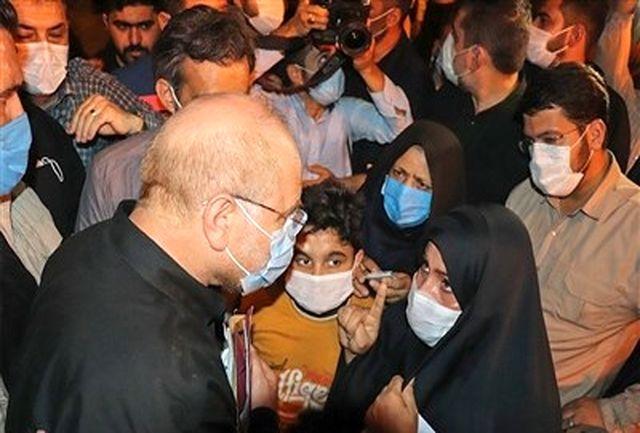 دیدار چهره به چهره مردم منطقه محروم حاشیه چابهار با رئیس مجلس