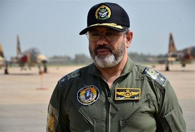 امیر سرتیپ نصیرزاده با فرمانده نیروی هوا فضای سپاه دیدار کرد