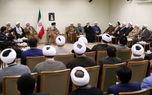 دیدار مسئولان دفتر تبلیغات اسلامی با رهبر انقلاب