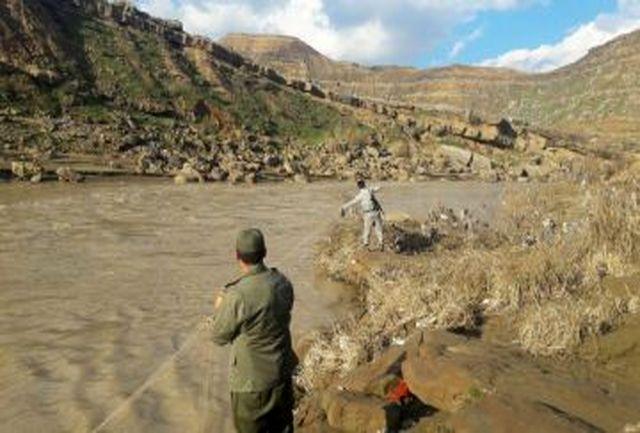 دستگیری 9  صیاد در پلدختر