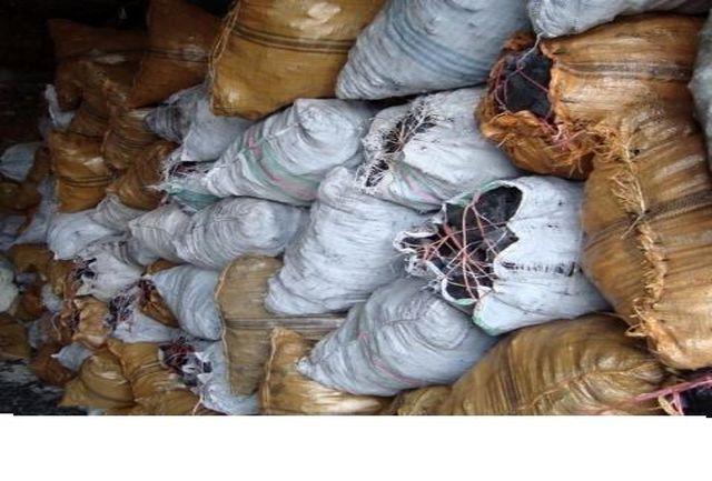 """کشف 150 کیسه ذغال قاچاق در"""" دلفان"""""""