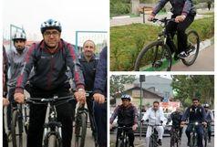 تغییر مبلمان شهری از خودرو محوری به زیست محوری با استفاده از دوچرخه نیازمند توجه است