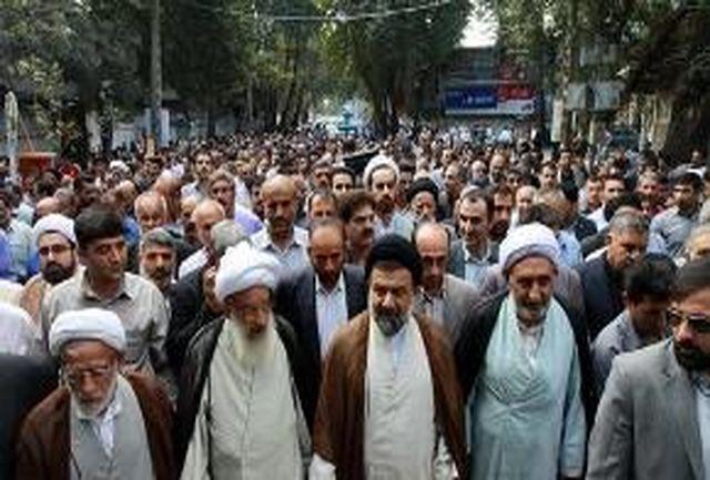 بازاریان و کسبه خرم آبادی اهانت به ساحت مقدس پیامبر اکرم (ص) را محکوم کردند