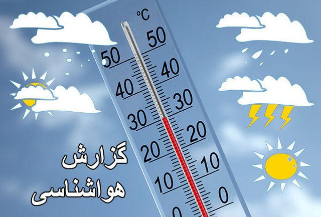 وزش باد و گرد و خاک در کرمان