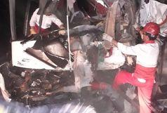 تصادف خونین در جاده اسپیران