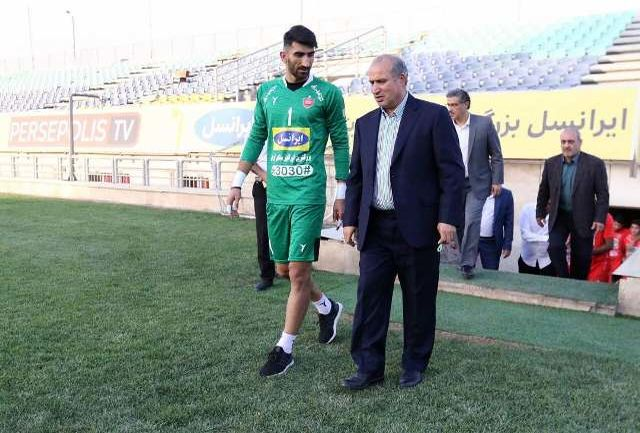 پیام رئیس فدراسیون فوتبال به بیرانوند