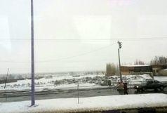 بارش برف در خوی