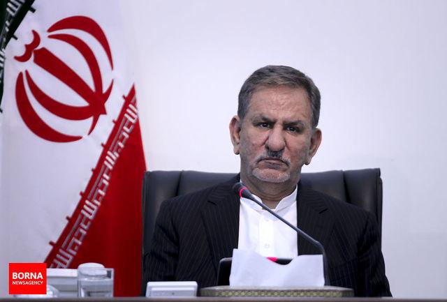 جهانگیری اصلاحیه مجوز احداث آزادراه تبریز-مرند-بازرگان را ابلاغ کرد