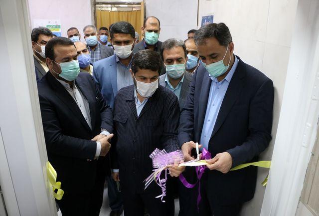 بخش سی تی اسکن بیمارستان سینا شهرستان کارون راه اندازی شد