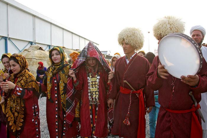 نخستین جشنواره ازدواج اقوام ایران در گلستان آغاز به کار کرد