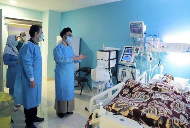 عیادت نماینده ولی فقیه در آذربایجان شرقی از آتش نشان فداکار تبریزی