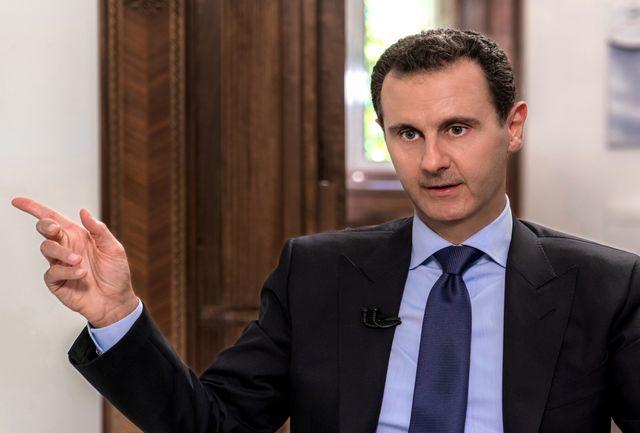 واکنش اسد به قصد آمریکا برای ترور خود