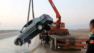 سقوط پژو پارس در کانال آب خوراسگان/تنها سرنشین خودرو نجات یافت