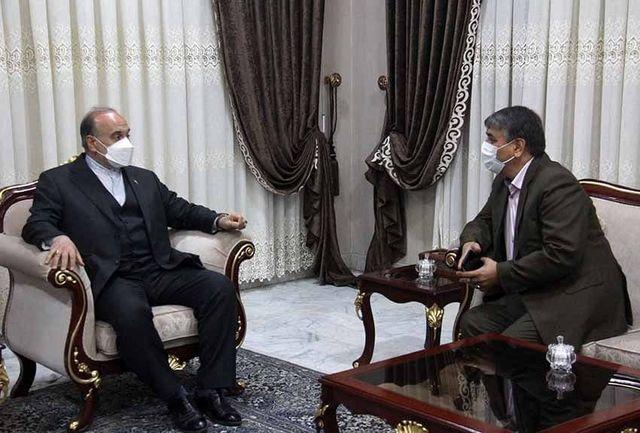 دیدار مدیرکل ورزش و جوانان استان یزد با وزیر ورزش و جوانان