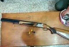 کشف وضبط دو قبضه اسلحه شکاری در رشت