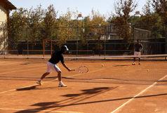 اتمام مسقف کردن یکی از کورت های تنیس مجموعه ورزشی سجاد