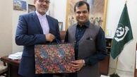 ایران و پاکستان بر تقویت مناسبات دو کشور تاکید کردند
