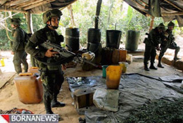 کاهش توان ارتش آمریکا در مبارزه با قاچاقچیان مواد مخدر