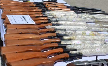 انهدام باند قاچاق سلاح در کرمانشاه
