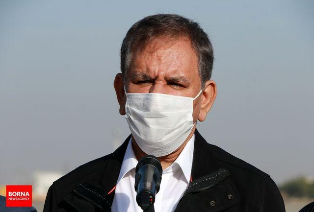 جهانگیری به دولت و ملت آذربایجان تبریک گفت