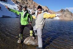 صعود کوهنوردان قائمشهری به قله سبلان