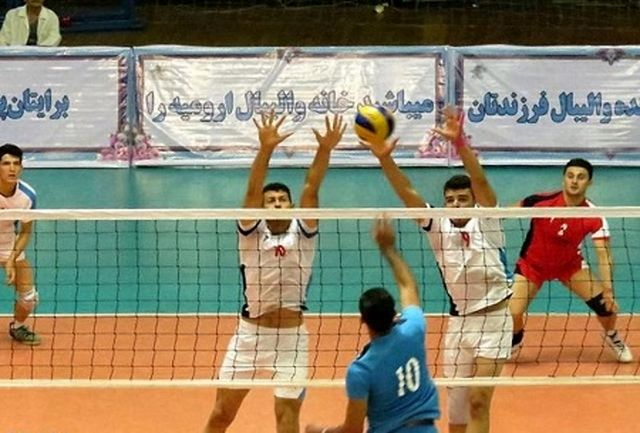 گرگان میزبان والیبال جوانان ایران