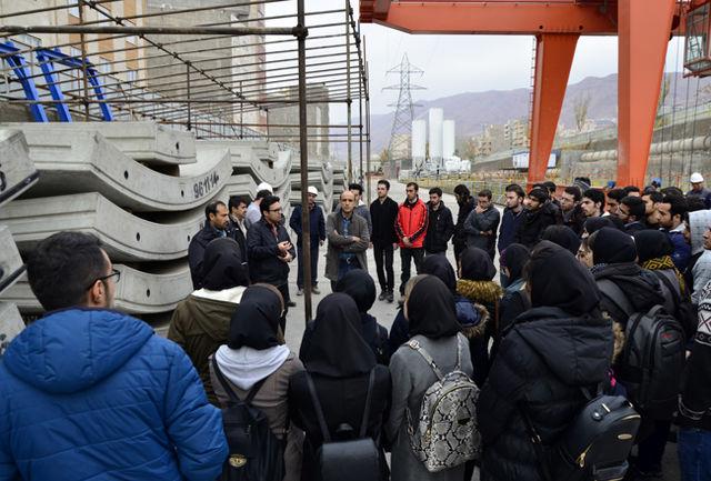 کارگاههای مترو تبریز به روی دانشجویان باز است