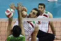 دیدار تیم های والیبال ایران و عراق - پاراآسیایی جاکارتا ۲۰۱۸