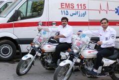 استقرار موتور آمبولانس ها در نقاط مرکزی تهران/ روزهای هوای ناسالم،  آب و شیر و سبزیجات بیشتر مصرف شود