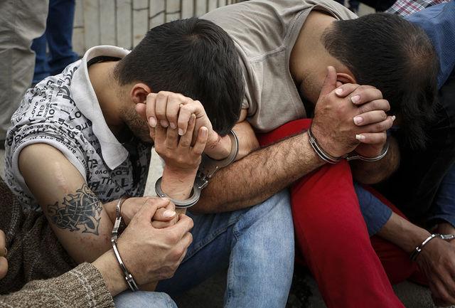 دستگیری سارقان مسافرنما در قلعه گنج