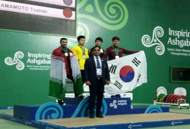 وزنه بردار البرزی موفق به کسب مدال طلا در مسابقات بزرگسالان آسیا شد