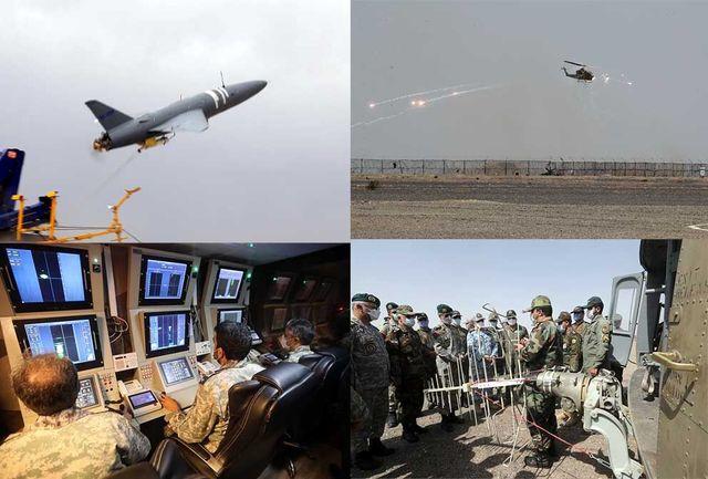 مرحله نهایی رزمایش مشترک جنگ الکترونیک ارتش برگزار شد