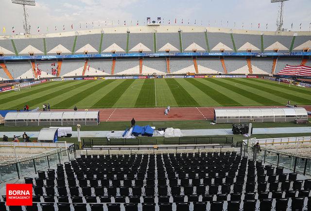 ورزشگاه آزادی آماده فینال لیگ قهرمانان آسیا/ ببینید
