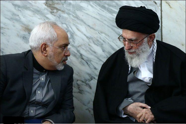 Image result for ظریف و رهبری