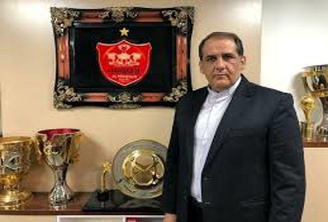 سرپرست پرسپولیس به تهران بازگشت