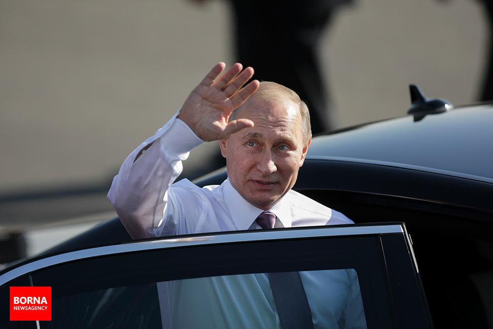 ورود+رئیس+جمهور+روسیه+به+تهران