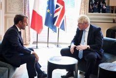 موضع مشترک انگلیس و فرانسه در برابر ترامپ