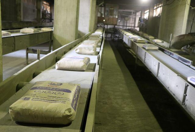 تولید بزرگترین کارخانه سیمان کشور متوقف شد