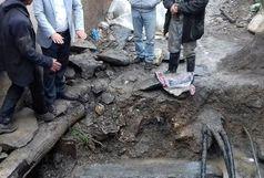 کشف یک گور تاریخی مربوط دوره اسلامی