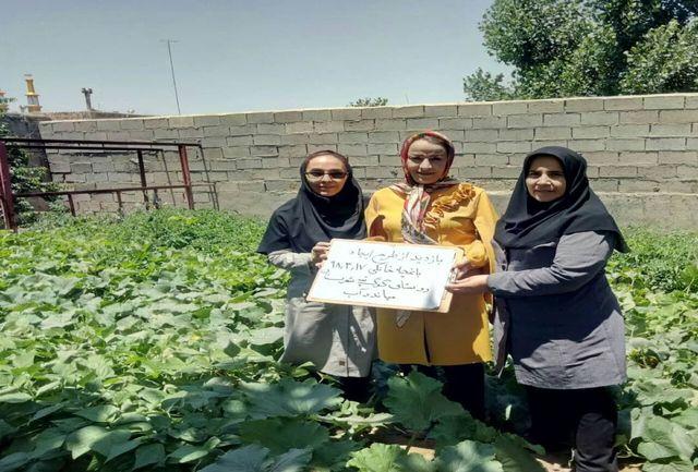 آموزش زنان روستایی آذربایجانغربی در طرح بهبود تغذیه و ایجاد باغچههای سالم خانگی