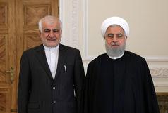 سفیر جدید ایران در چین با روحانی دیدار کرد